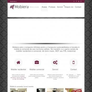 Mobiera - Mobilier la comanda