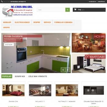 Website pentru firma sc.cris-bm.srl