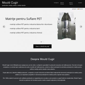 Website pentru firma Mould Cugir S.R.L.