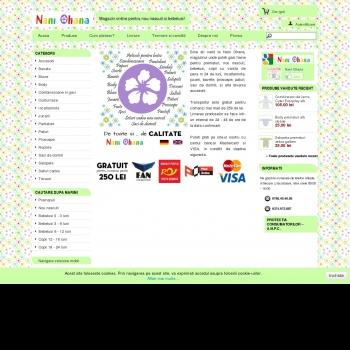 Website pentru firma NANI OHANA SRL