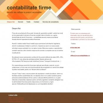 Website pentru firma new cont shop srla