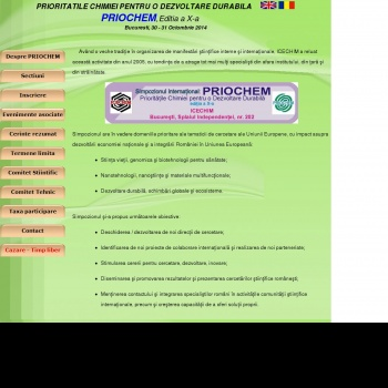 Simpozion international PRIOCHEM