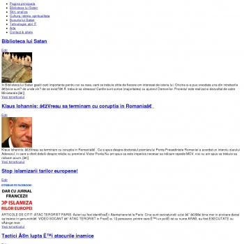 Website pentru firma Romanian Security Project