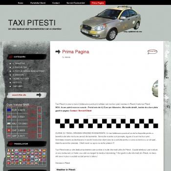 Website pentru firma Rizescu Aurel PFA
