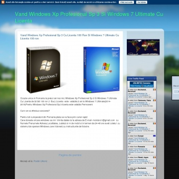 Vand Windows Xp Profesional Si Windows 7 Ultimate Cu Licenta