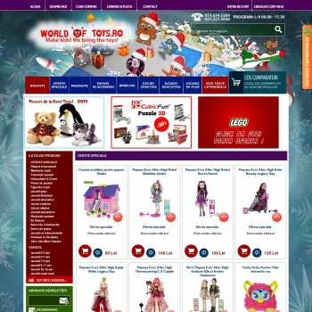 Magazin online jucarii - Worldoftoys