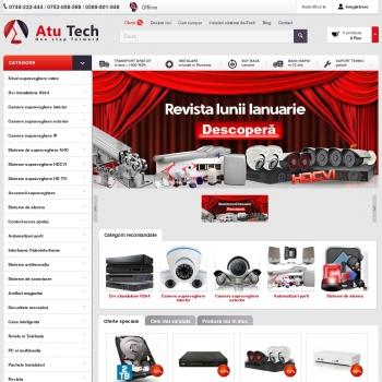 Website pentru firma Atu Tech
