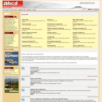 Abcdinfo - Director web cu linkuri gratuite