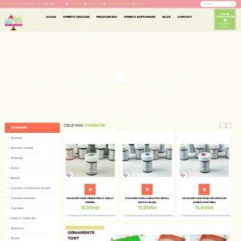 Accesorii cofetarie | Ustensile cofetarii | Coloranti alimentari
