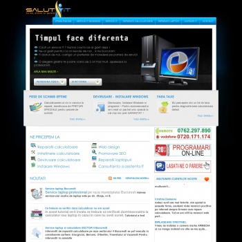 Website pentru firma Activ Concept Solutions