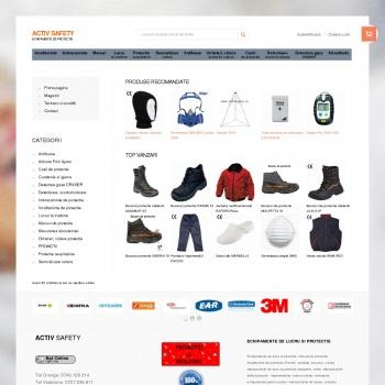 Website pentru firma activ safety