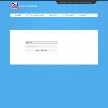 Website pentru firma SC AD AUTO TOTAL SRL