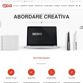 Website pentru firma ADA Design