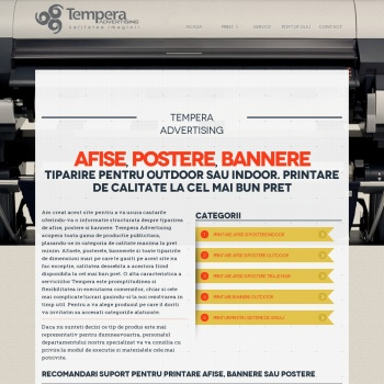 Print Afise Postere-Tempera Advertising