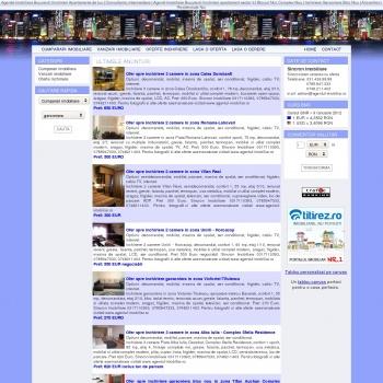 Website pentru firma Sincron Imobiliare SRL