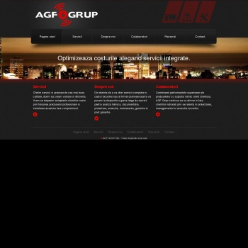 Website pentru firma SC AGROFLORIAN90 SRL-D