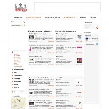 Alba Iulia Online - Anunturi Alba Iulia. Portal de afaceri judet