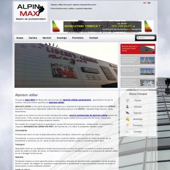 Website pentru firma SC ATC ECHO GROUP SRL      ALPIN MAX