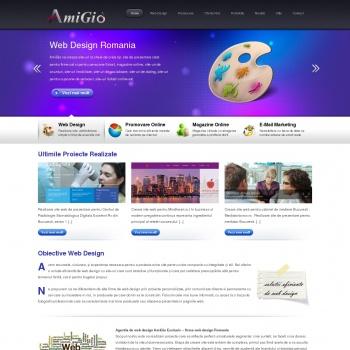 Firma web design Romania