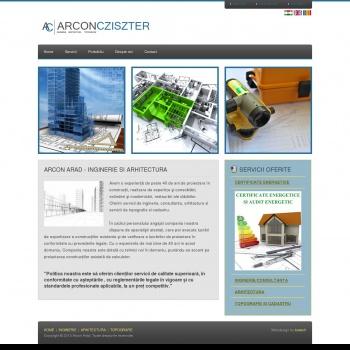 Arcon Arad, arhitectura Arad
