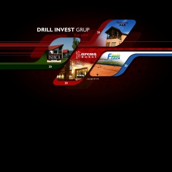 Website pentru firma SC DRILL INVEST SA