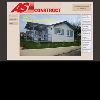 Website pentru firma S.C. A.S. CONSTRUCT IMPEX SRL