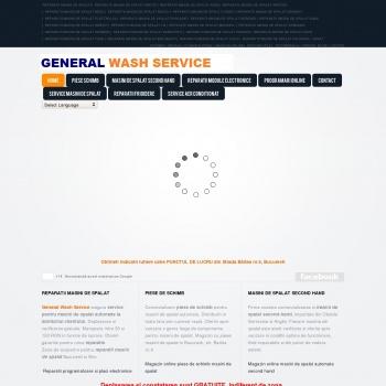 Website pentru firma Automatic Wash Service
