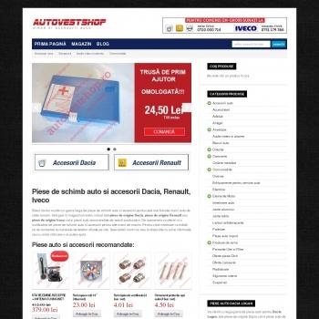 Magazin online piese si accesorii auto