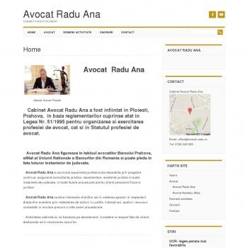 Avocat Radu Ana Cabinet avocat Ploiesti,Prahova
