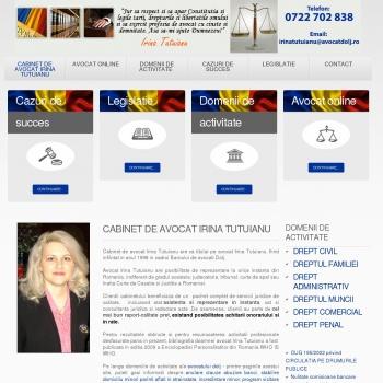 Irina Tutuianu cabinet de avocat