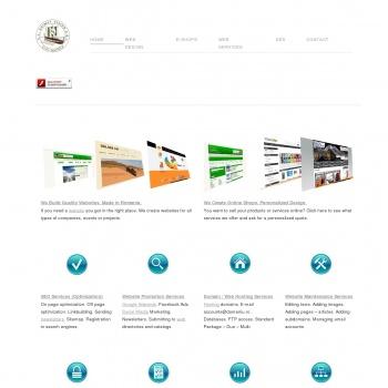 Website pentru firma azimut vision
