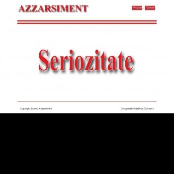 Website pentru firma Azzarsiment