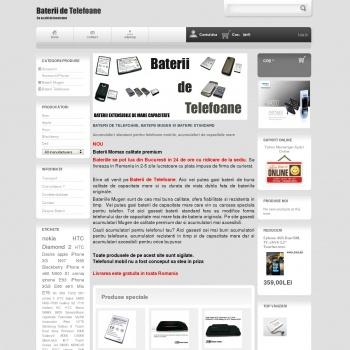 Website publicat de Bobe Mihai