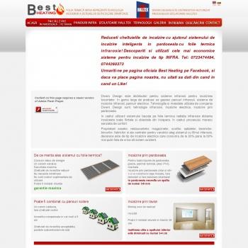 Website pentru firma Divers Design SRL