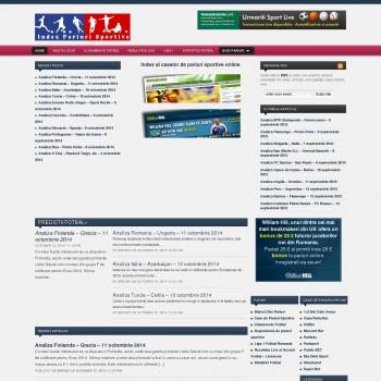 Website pentru firma SC OMNIBET WEB SRL