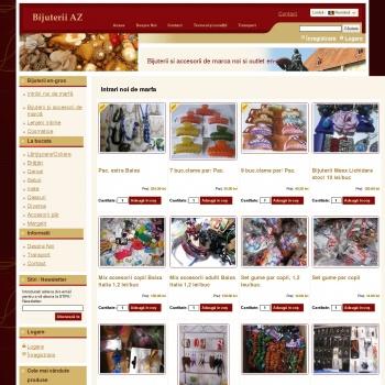 Website pentru firma BijuteriiAZ