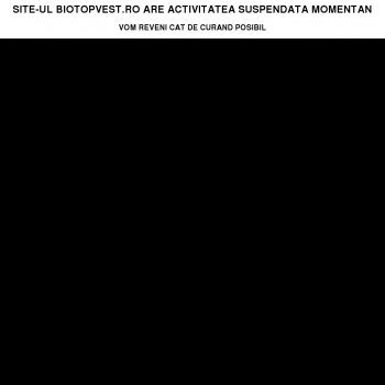 Website pentru firma Biotopvest Magazin Naturist Arad