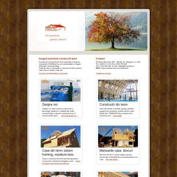 Website pentru firma Bona Dea Imex