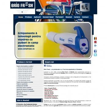 Website pentru firma Brio Fresh
