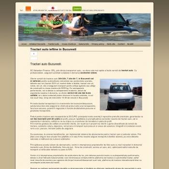Tractari auto ieftine Bucuresti