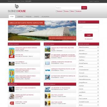 Website pentru firma BusinessHouse