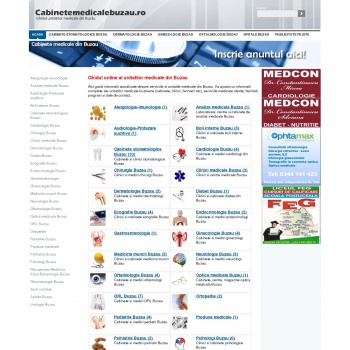 Ghidul online al cabinetelor medicale din Buzau