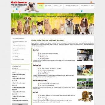 Medici veterinari Bucuresti