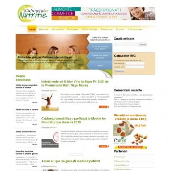 Website publicat de Suhanea Daniela