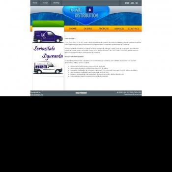 Website pentru firma C.AIL DISTRIBUTION SRL