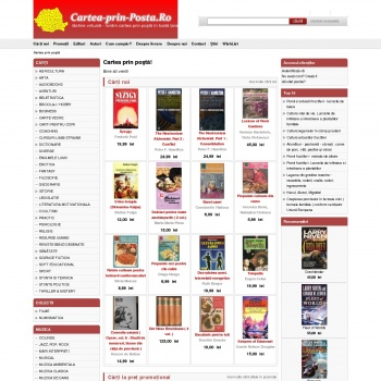 Cartea-prin-posta.ro - Librarie si anticariat virtual