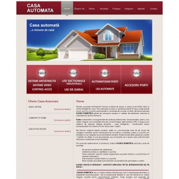 Website pentru firma SC Ampro System SRL