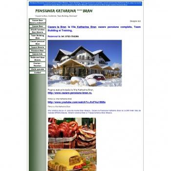 Restaurant si cazare la Pensiunea Katharina Bran