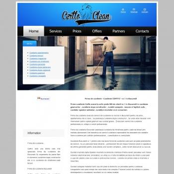 Website pentru firma curatenie