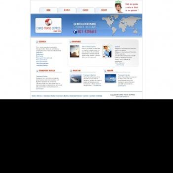 Website pentru firma Chris Trans Expres